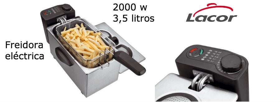 Freidora electrica multifuncio - Lacor