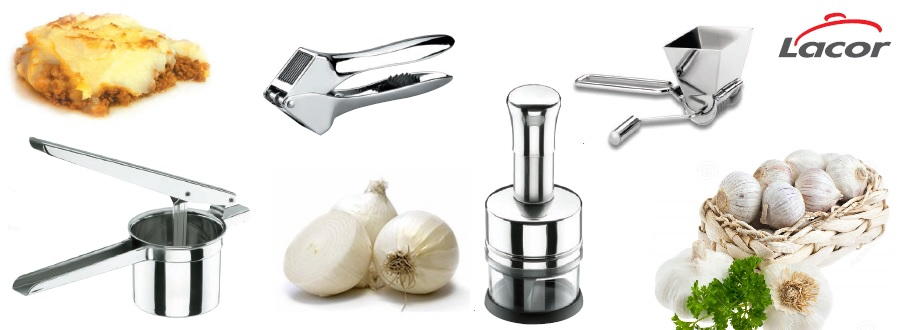 Pequeños utensilios que te harán más cómodo tu trabajo en la cocina