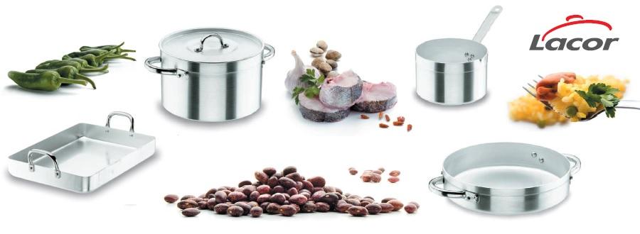 La Chef aluminio de Lacor, una batería para toda la vida