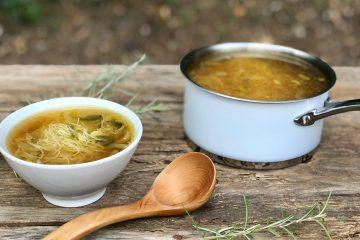 Sopa de puerros y miso3