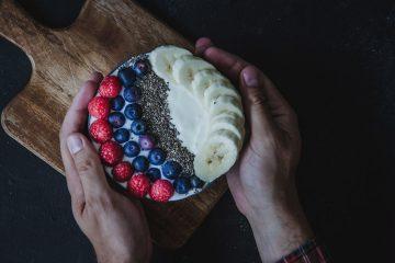 Smoothie Bowl de yogurt de coco