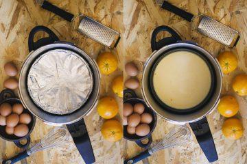 Flan de naranja olla a presion 3