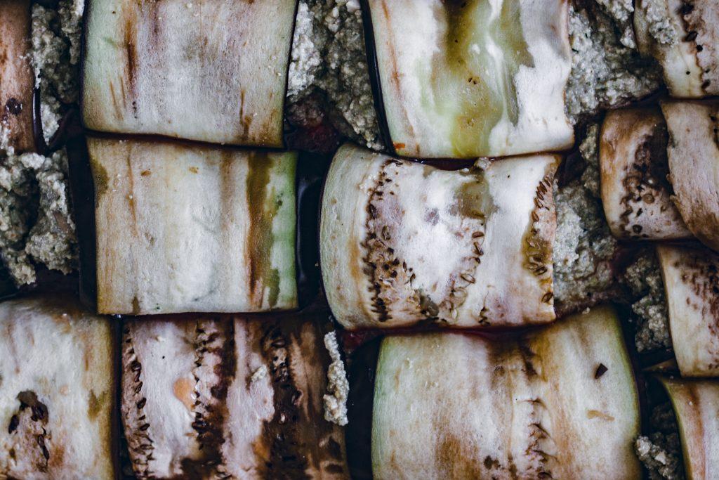 Involtinis de berenjena, tofu y champiñones13