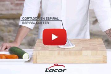 Video cortador en espiral
